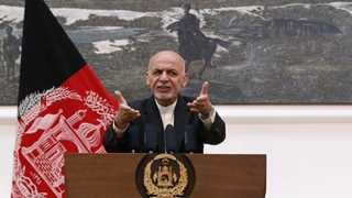 Afghan presidential palace hit by massive missile attack