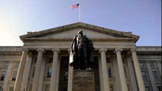 US Treasuries slightly lower, Fed, US-China talks in focus