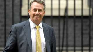 UK trade secy Fox: Don't want no-deal Brexit