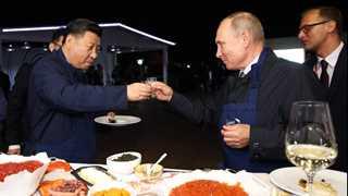 China, Russia oppose trade protectionism - Xi, Putin say