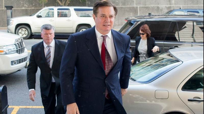 Manafort to plead guilty as part of deal with Mueller - court filing