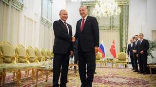 Erdogan: Meeting with Putin will bring hope to Middle East