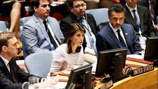 Russia violates N. Korea sanctions - Haley