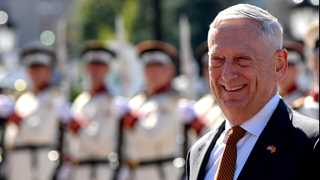 Mattis says he's not leaving Trump administration