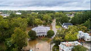 Florence leaves floods behind, death toll rises to 32