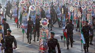 Gunmen kill people during military parade in Iran