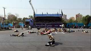 Iran calls three EU diplomats to protest over attack