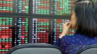 China's stocks drop; Tokyo in slight advance