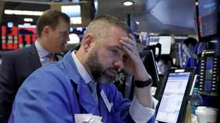 Dow plunges over 500 pts pulled by Apple