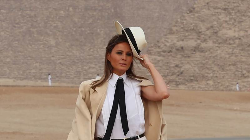 Melania Trump says some in administration not to be trusted