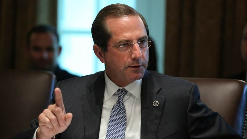 Azar promises lower drug prices