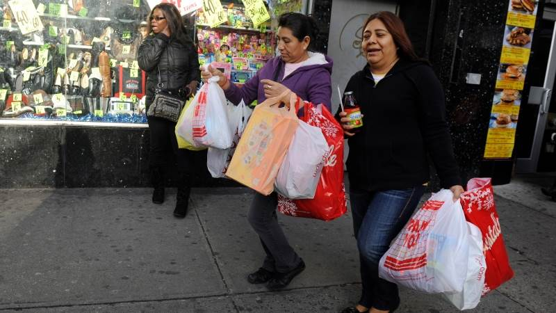Consumer price growth in US slows to 2.3%