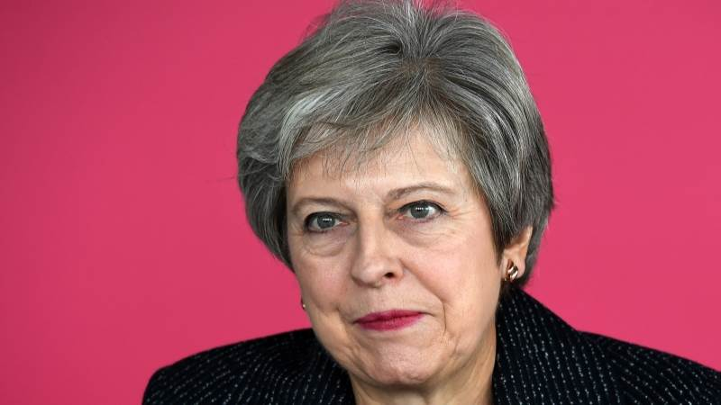 May would 'never' accept continuous customs union