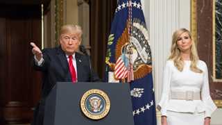 Trump says Ivanka 'would be incredible' UN envoy