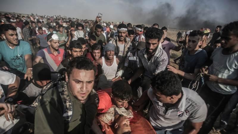 Clashes along Gaza border claim 5 lives