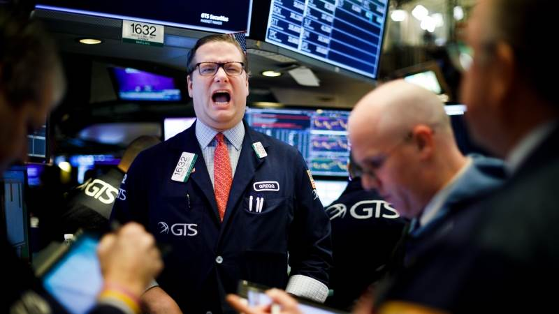 Wall Street ends volatile week in the green